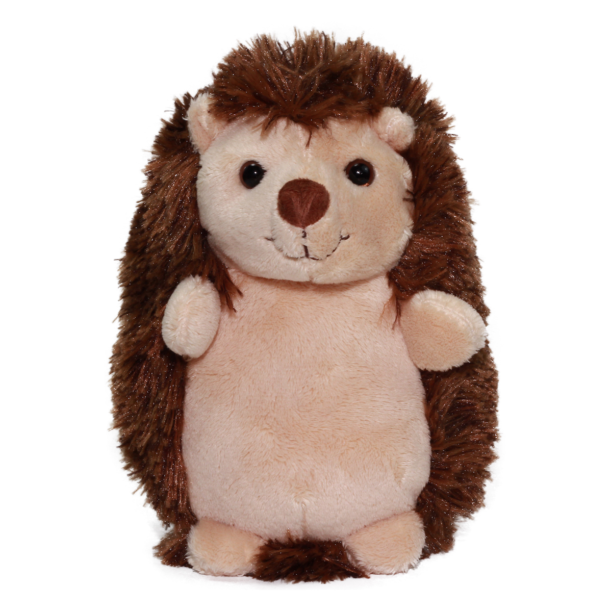 Hedgehog Stuffed Animal Unney & Cree Plush Collection Brown 7 Inches