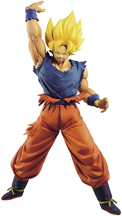 Super Saiyan Son Goku Figure, Maximatic, Dragon Ball Z, The Son Goku IV Figure, Banpresto, Bandai