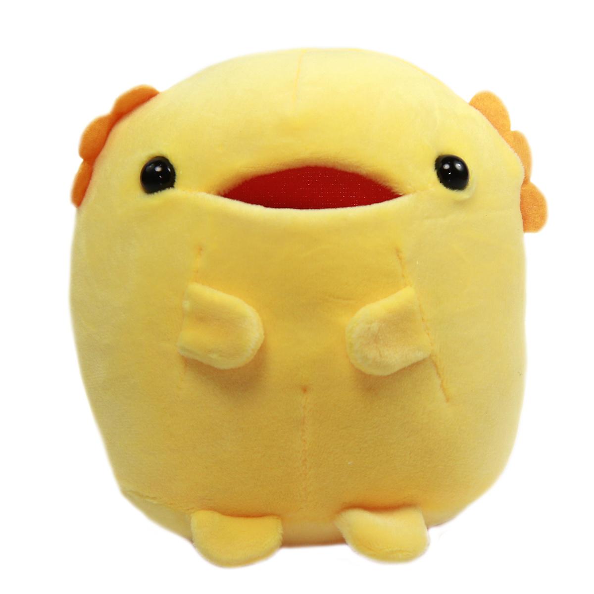 Axolotl Plush Toy Tachippa!! Standing Super Soft Stuffed Animal Yellow Uparupa 5