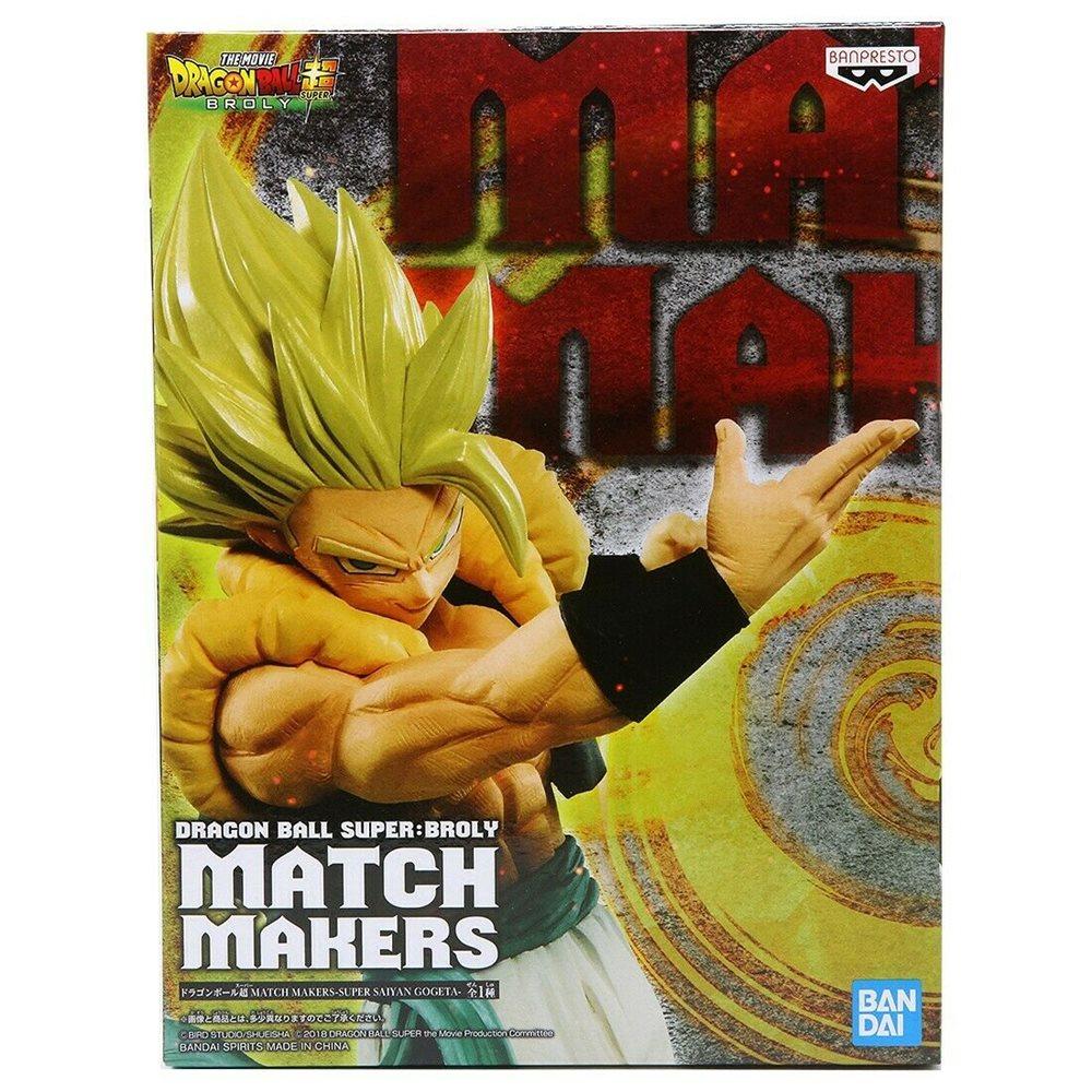 Super Saiyan Broly Figure, Match Makers, Dragon Ball Super, Banpresto Bandai