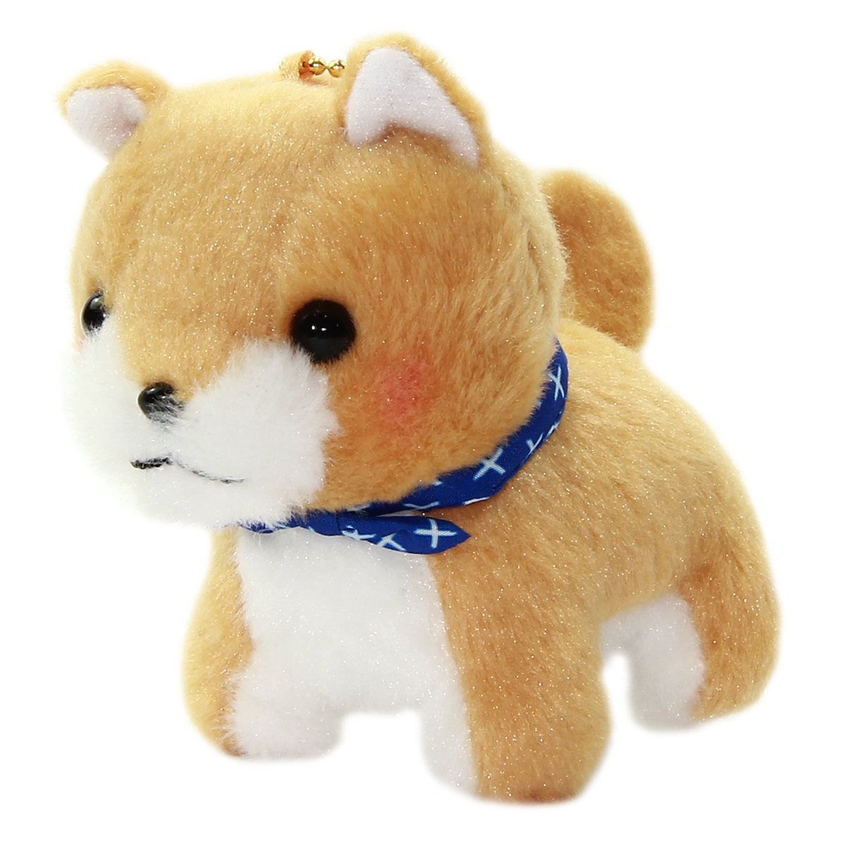 Amuse Dog Plushie, Mameshiba San Kyodai Mametaro Brown 4 Inches