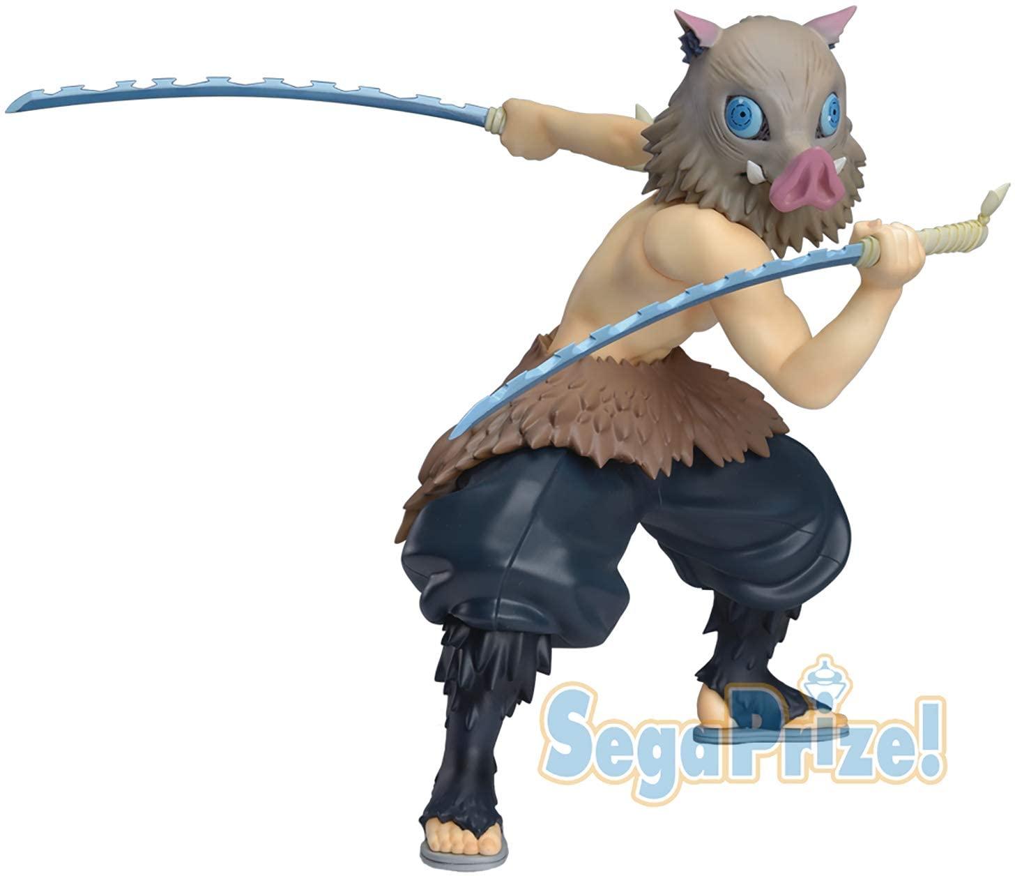 Inosuke Hashibira Figure, Demon Slayer, Kimetsu no Yaiba, SPM Figure, Sega