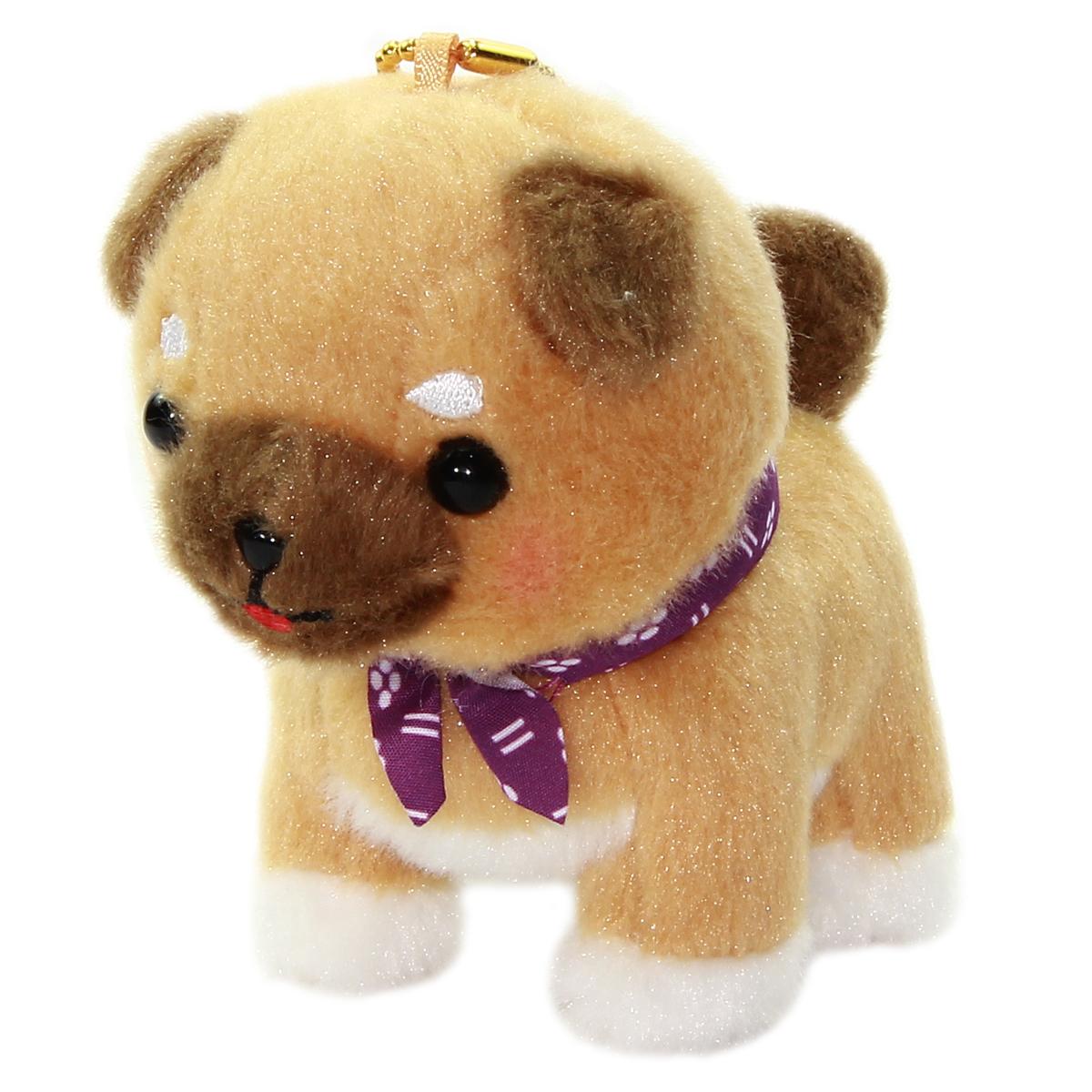 Amuse Dog Plushie, Mameshiba San Kyodai Mamesaburo Brown 4 Inches