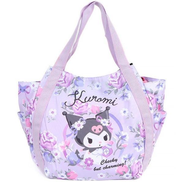 Sanrio Kuromi Shoulder Bag Pink Manufatto