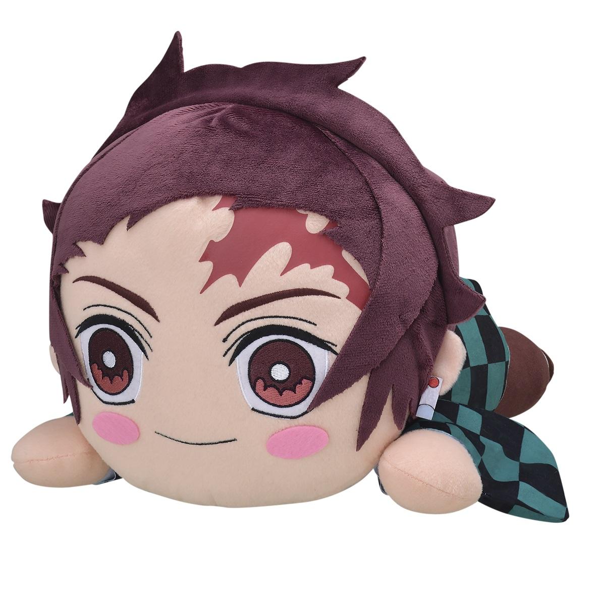 Tanjiro Kamado Plush Doll, Laying Down, Demon Slayer, Kimetsu no Yaiba, Big Size, Sega