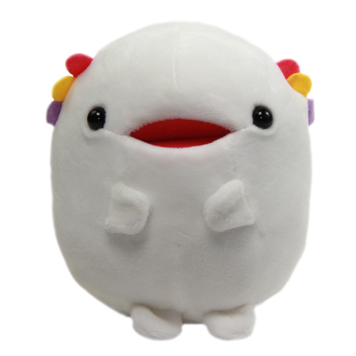 Albino Axolotl Plush Toy Tachippa!! Standing Super Soft Stuffed Animal White Uparupa 5