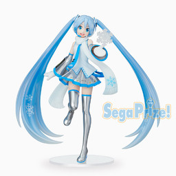 Snow Miku Figure, Hatsune Miku, Super Premium Figure, SPM, Vocaloid, Sega