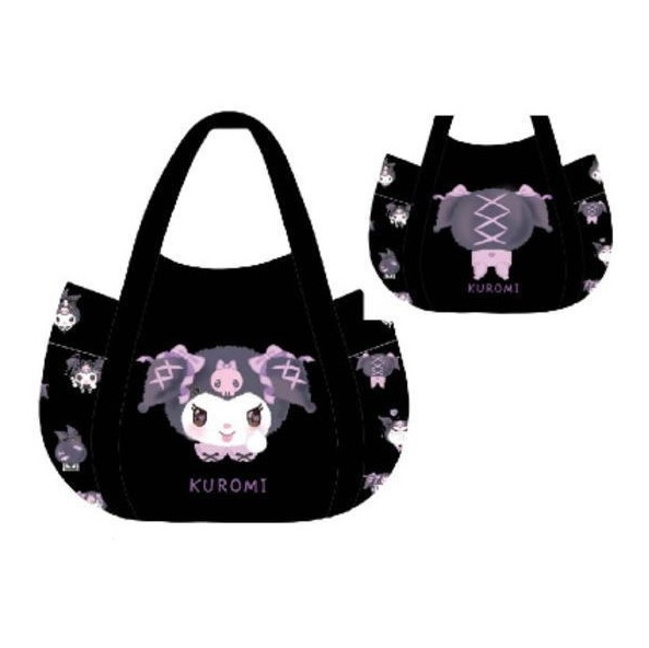 Sanrio Kuromi Shoulder Bag Black Manufatto