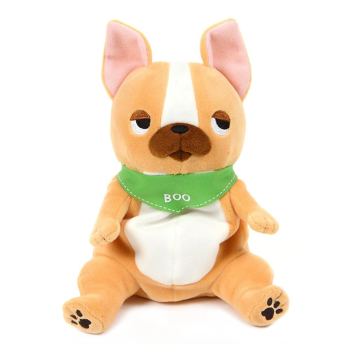 Plush Pug, Amuse, Buruburu Boo!, Gabugabu, Brown, 7 Inches