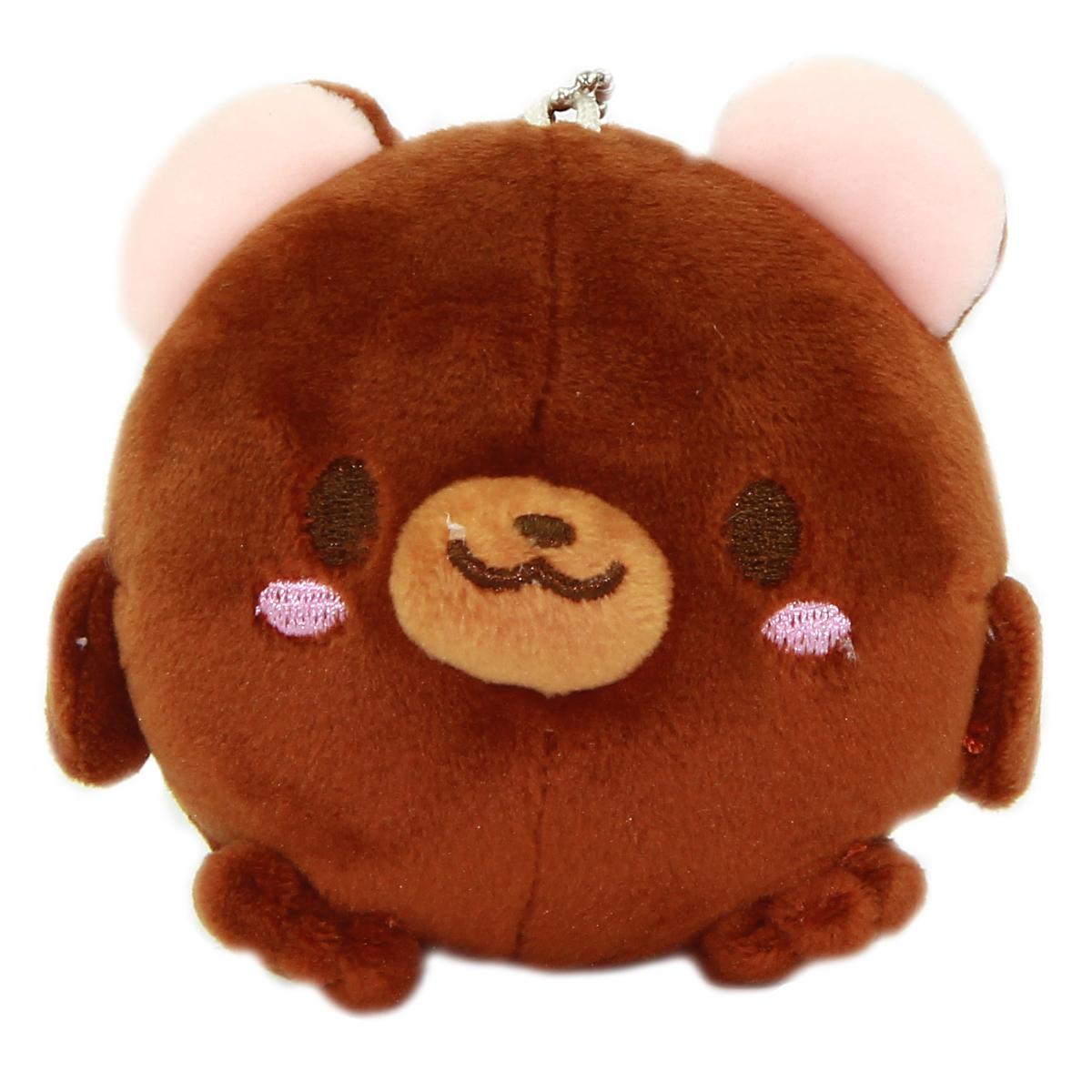Bear Plush Doll Kawaii Stuffed Animal Soft Squishy Plushie Mochi Brown