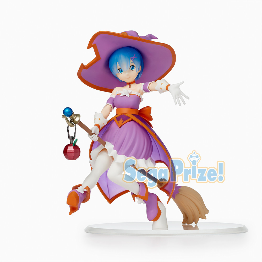 Rem Figure, Witch Ver, Re:Zero - Starting Life in Another World, Sega