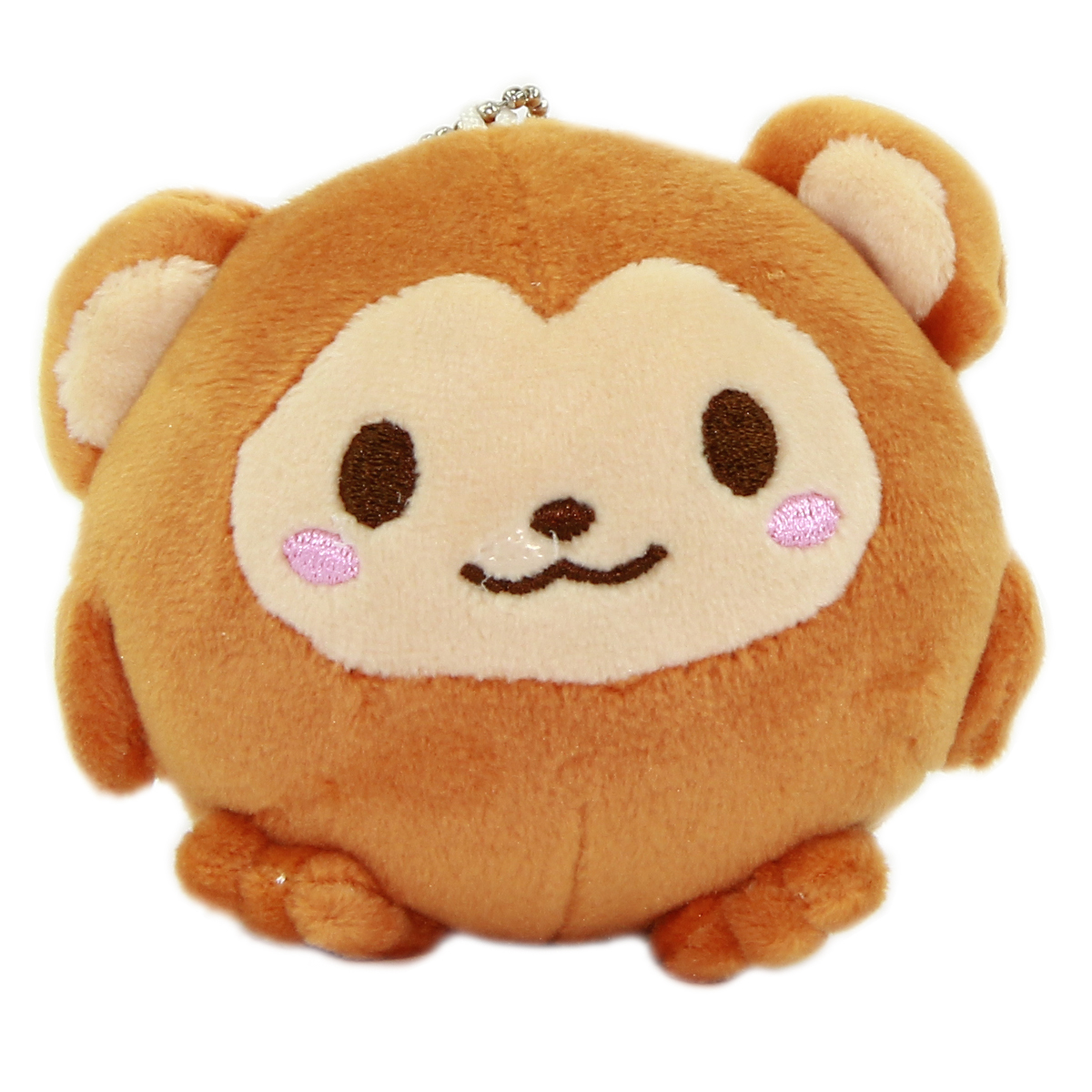 Monkey Plush Doll Kawaii Stuffed Animal Soft Squishy Plushie Mochi Brown