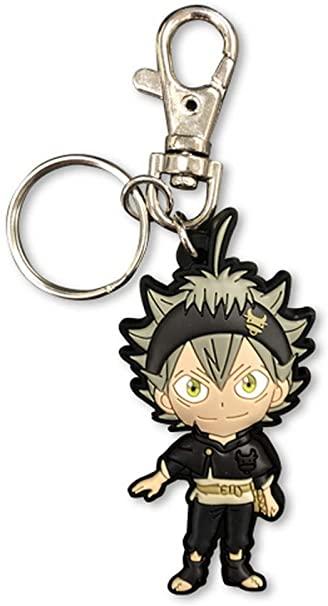 Black Clover Asta PVC Keychain