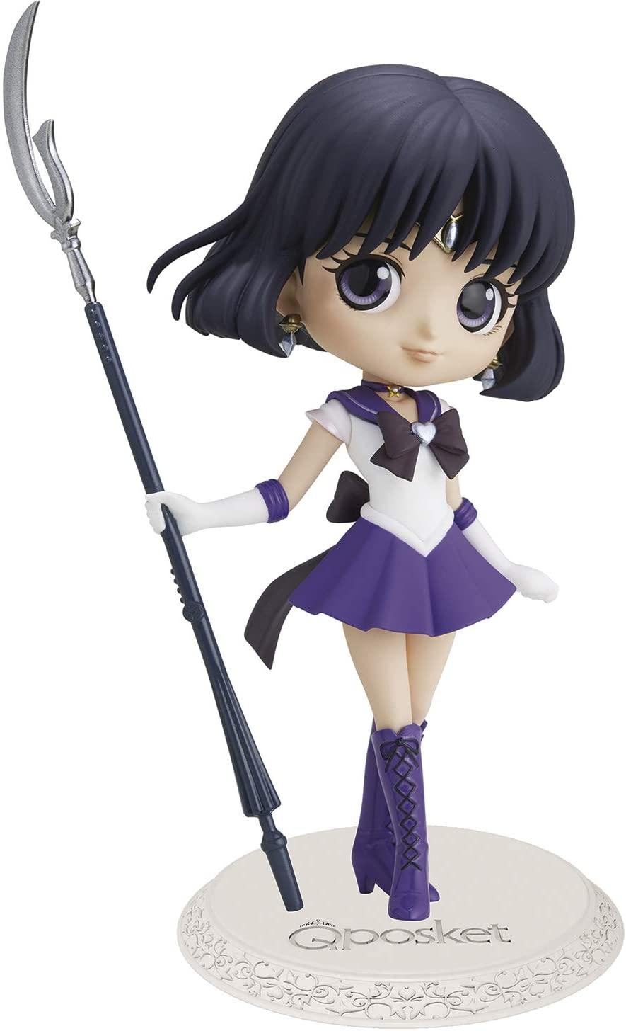Sailor Saturn Figure, Q Posket, A Version, Sailor Moon, Banpresto