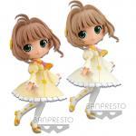 Sakura Kinomoto Figure, Clear Card, Q Posket, Cardcaptor Sakura, Banpresto