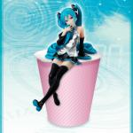 Hatsune Miku Noodle Stopper Figure, Vocaloid, Furyu