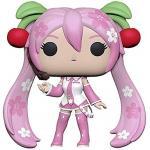 Sakura Miku Funko Pop Animation 3.75 Inches Hot Topic Exclusive Funko Pop 945