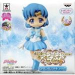 Sailor Mercury Atsumete Trading Figure Sailor Moon Crystal Anime Statue Doll 20th Anniversary Special Banpresto