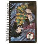 Demon Slayer Giyuu Tomioka Spiral Anime Notebook