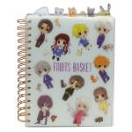 Fruits Basket Group Chibi Characters Spiral Anime Notebook
