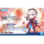 Saber Miyamoto Musashi Model Kit Petitrits Avenger Fate/Grand Order Bandai