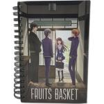 Fruits Basket Welcome Back Group Spiral Anime Notebook