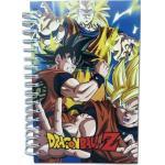 Dragon Ball Z Spiral Anime Notebook