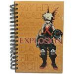 My Hero Academia Bakugo Spiral Anime Notebook