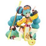 Hatsune Miku Noodle Stopper Figure, Chinese Dress, Yellow ver, Vocaloid, Furyu
