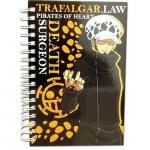Trafalgar Law One Piece Spiral Anime Notebook