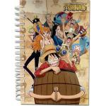 One Piece Spiral Anime Notebook