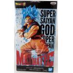 Son Goku Figure, Super Saiyan God Super Saiyan, Maximatic, Dragon Ball Super, Banpresto, Bandai
