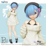 Rem Precious White Sweater Dress Figure, Re:Zero - Starting Life in Another World, Taito