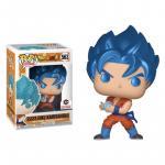 SSGSS Goku (Kamehameha) Figure Chalice Exclusive Dragon Ball Super Funko Pop Animation 3.75 Inches - Funko Pop 563