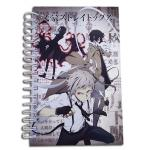Bungo Stray Dogs Hardcover Spiral Anime Notebook
