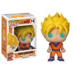 Super Saiyan Goku Figure Dragon Ball Z Funko Pop Animation 3.75 Inches - Funko Pop 14