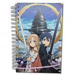 Sword Art Online Hardcover Spiral Anime Notebook