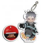 Fire Force Shinra Kusakabe Acrylic Keychain Figure