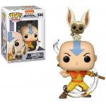 Aang with Momo Figure Avatar The Last Airbender Funko Pop Animation 3.75 Inches - Funko Pop 534