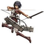 Mikasa Ackerman Figure, 1/8 Scale Pre-Painted Figure, Attack On Titan, Attack On Titan