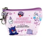 Pokemon Pocket Monster Triangle Mini Pouch Purple