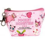 Pokemon Pocket Monster Triangle Mini Pouch Pink