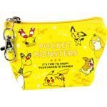 Pokemon Pocket Monster Triangle Mini Pouch Yellow