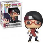 Sarada Uchiha Figure Naruto Funko Pop Animation 3.75 Inches Funko Pop 672