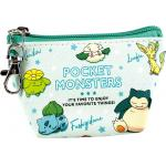 Pokemon Pocket Monster Triangle Mini Pouch Green