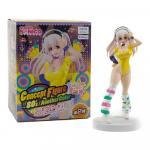 Super Sonico, Concept Figure, 80s Version, Yellow, Super Sonico, Concept Figure, Furyu