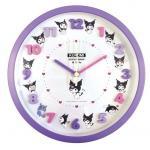 Sanrio Kuromi Wall Clock