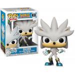 Sonic The Hedgehog Silver Funko Pop Animation 3.75 Inches Funko Pop 633